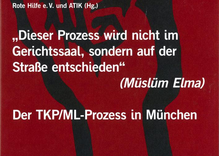 07.08.2018 Münih Komünistler davasıyla ilgili broşür yayınlandı